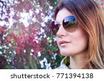 close up portrait of a... | Shutterstock . vector #771394138