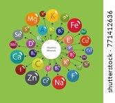 "scheme ""all vitamins and... | Shutterstock .eps vector #771412636"