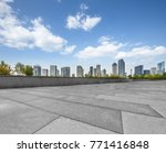 panoramic skyline and buildings ... | Shutterstock . vector #771416848