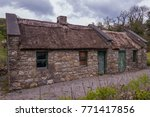 Derelict Thatched Stone Cottag...