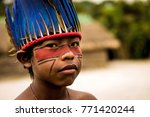 Native Brazilian Child From...