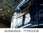 Nameplate On A4 Steam...