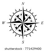 compass rose compassrose wind... | Shutterstock .eps vector #771429400