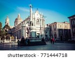 catania  italy   november 28 ... | Shutterstock . vector #771444718