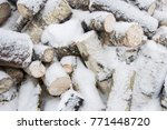 texture of a tree and boards... | Shutterstock . vector #771448720