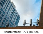 Rooftop Mobile Cell Towers