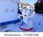 pyeongchang  south korea ... | Shutterstock . vector #771487348