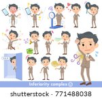 man with complex | Shutterstock .eps vector #771488038