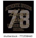 buenos aires sport t shirt... | Shutterstock . vector #771558460