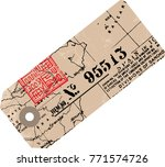 adventure airport travel tag... | Shutterstock . vector #771574726