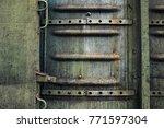 industrial metal texture... | Shutterstock . vector #771597304