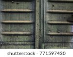 industrial metal texture... | Shutterstock . vector #771597430