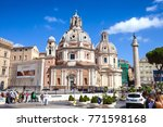 rome  italy   september 15 ... | Shutterstock . vector #771598168