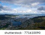 bergen  is a city in hordaland... | Shutterstock . vector #771610090