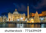 Saint Peter Basilica In Rome At ...