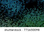dark blue vector red pattern of ...   Shutterstock .eps vector #771650098
