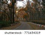 sunset evening  kalsi  chakrata ... | Shutterstock . vector #771654319