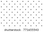 crosses   pluses diagonally... | Shutterstock .eps vector #771655543