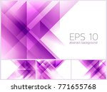 triangle and fractal abstract...   Shutterstock .eps vector #771655768