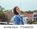 fashion woman.    Shutterstock . vector #771660220