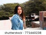fashion woman.    Shutterstock . vector #771660238