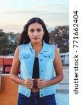 fashion woman.    Shutterstock . vector #771662404