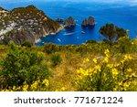 the main town capri and easten ... | Shutterstock . vector #771671224