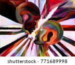 stained glass forever series.... | Shutterstock . vector #771689998