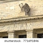 federal reserve building in... | Shutterstock . vector #771691846