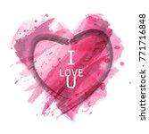 vector abstract texture pink... | Shutterstock .eps vector #771716848