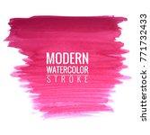 modern watercolor background | Shutterstock .eps vector #771732433