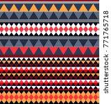geometric ethnic pattern... | Shutterstock .eps vector #771765718