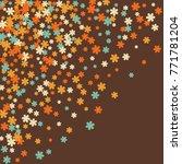 vector confetti background...   Shutterstock .eps vector #771781204