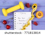 new year resolutions or goals... | Shutterstock . vector #771813814