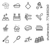 thin line icon set   factory... | Shutterstock .eps vector #771830260