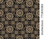 islamic vector design. seamless ... | Shutterstock .eps vector #771833383