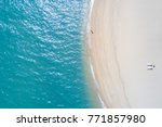 beautiful sea when viewed from... | Shutterstock . vector #771857980