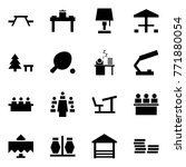 origami style icon set   picnic ... | Shutterstock .eps vector #771880054