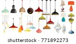 lamp on white background... | Shutterstock .eps vector #771892273