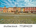 typical colorful buildings in...   Shutterstock . vector #771894229