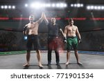 referee is declairing the... | Shutterstock . vector #771901534