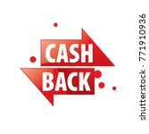 emblem cash back | Shutterstock .eps vector #771910936