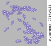 feather pattern  bright...   Shutterstock .eps vector #771914158
