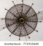 christmas street lamp   Shutterstock . vector #771915640