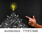 creativity concept for good... | Shutterstock . vector #771917668