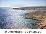 red sea at ras mohamed park in... | Shutterstock . vector #771918190