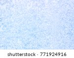 Texture  Pattern. Frozen Water...
