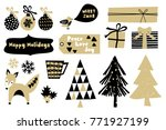 a set of scandinavian style... | Shutterstock .eps vector #771927199