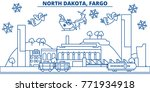 usa  north dakota   fargo... | Shutterstock .eps vector #771934918