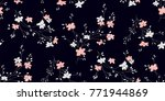 seamless floral pattern in... | Shutterstock .eps vector #771944869